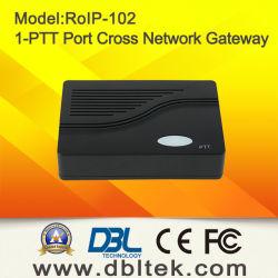 Radio au-dessus du Gateway RoIP-102 du Croix-Réseau VoIP d'IP