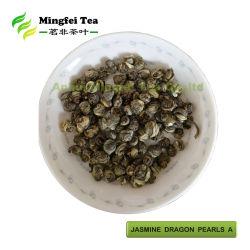 中国の緑茶のジャスミンのドラゴンはAを真珠で飾る