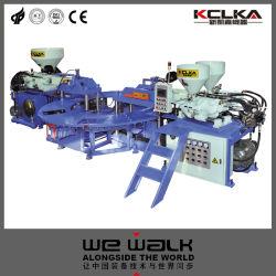 آلة تشكيل الحقن العلوية بثلاثة ألوان Kclka PVC
