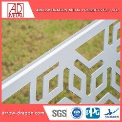 Лазерной резки Краска металлик алюминиевые перфорированные панели есть балкон/лестницы поручни/ Balustrade Infill панелей/ экрана