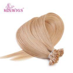 毛の拡張ペルーの人間の毛髪をネイリングしなさい