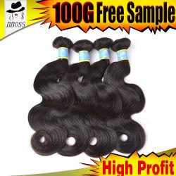5% de desconto 100% virgem bruto grossista beleza brasileira de cabelo humano