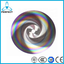 Sierra circular HSS Metal Blade para tubo de plástico de la madera de corte de perfil