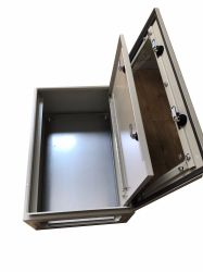 Aangemaakte het Opzetten van de Muur van de Deur van het Glas IP65 Bijlage met BinnenDeur