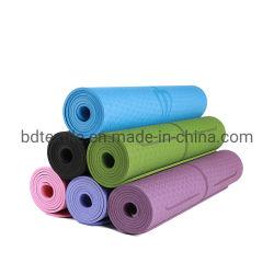 운동, 요가 및 Pilates 체조 매트를 위한 미끄럼 방지 스포츠 적당 요가 매트 3mm-15mm 두꺼운 PVC 요가 매트