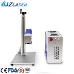 Draagbare CNC 30W 50W glasvezel/CO2/3W 5W UV-lasermachine/3D Logo Printing machine Laser Cutting machine for Metal/Jewelry/Plastic/Copper/Wood/Gold/Glass