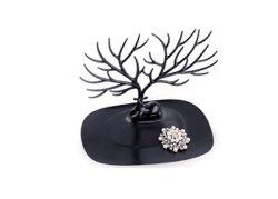 Retro Deer tree stand Earrings Bijoux bague collier montrent Titulaire d'affichage de rack