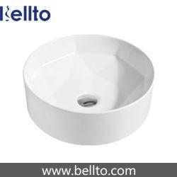 Bassins de la salle de bain en céramique haut de gamme pour la vente (3037)