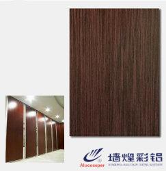 Painéis de parede de aço do PVC do metal decorativo muito do competidor