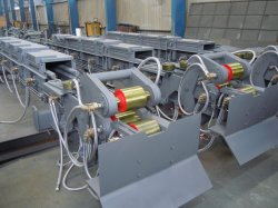 Intermediate Roller Table Assembly OEM Metallurgical Equipment