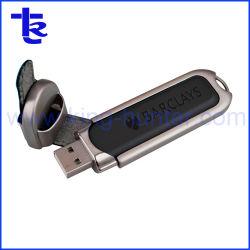主ロックが付いている最もよい価格の革USBのフラッシュ駆動機構