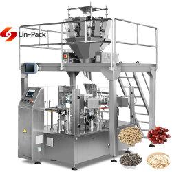 El nitrógeno gránulo automática Máquina de embalaje de alimentos secos