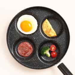 Four-Hole плоский низ Non-Stick омлет доски яйцо Pan посуда для приготовления пищи в горшочках