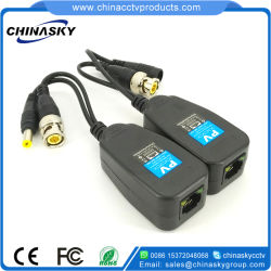 1CH UTP passive HD-CVI/tvi/Ahd Power Balun pour la vidéosurveillance (PV22H)