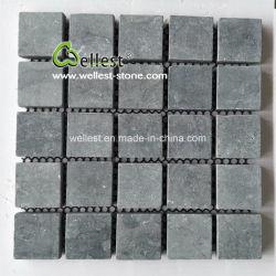 G603/G654/G684/G682 hellgraues/dunkles Graues/Schwarzes/Gelb/roter Porphyr/Granit/Basalt ineinandergegriffener Pflasterung-Stein auf Ineinander greifen