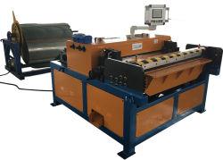 Buis HVAC die Machine die voor de Nivellerende Kralenversiering vormen van het Metaal van het Blad het Scheren het Vouwen inkerven