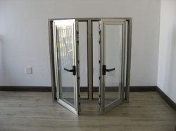 Stoffa per tendine di alluminio Windows della rottura del blocco per grafici del comitato termico di vetratura doppia