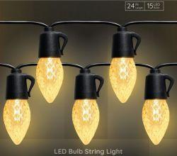 Landscap 점화 LED 끈 전구, 가벼운 센서 기능