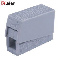 elektrische steckbare Verbinder-Isolierklemmenleiste des Kabel-24A
