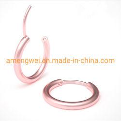 2020 Ring van het Segment Earrring van de Ring van de Lip van de Ring van de Neus van de Juwelen van de Juwelen van het Lichaam van het Roestvrij staal van de Juwelen van de Manier 316L de Doordringende Naadloze Multifunctionele Ring Scharnierende clicker-20g