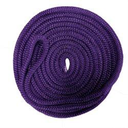 Fabricante de fábrica de poliéster trenzado Rope Dock Line Nylon PP Marine Amarre Rope Camping Rope Escalada Rope Pet Leash Rope
