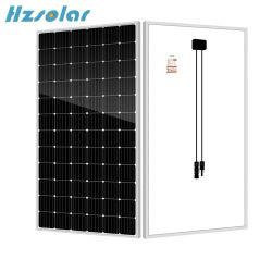 공장 저가 340W 350W 360W 370W 380W 390W 400W 표준 72cells Monocrystalline 태양 전지판