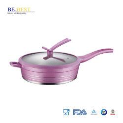 Die-Casting profunda Non-Stick Frypan aluminio utensilios de cocina