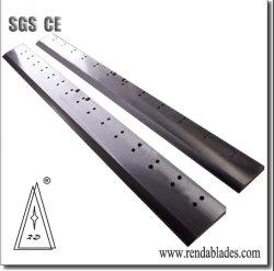 SKD11 прямой металлический Guillotine прямой нож