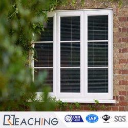 新しいデザインガラス窓のグリルデザインビニールかPlastic/PVCの開き窓Windows