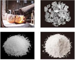 Un grade 4-10-50-SIO2 en silice fondue de maille de 99,9 % Montant/Grain/poudre pour l'énergie solaire PV creuset