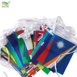 Бунтинг String полиэстер национальные флаги для украшения (A-NF11F06028)