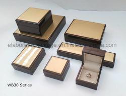 Hölzernes Uhr-Einkommen-Verpackungs-Speicher-Geschenk-verpackenschmucksache-Kasten
