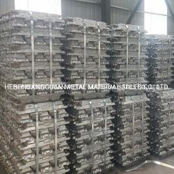 Lingotto in alluminio ad alta purezza Standard 99.7%/99.8% per Best Price Factory Lingotto in alluminio A7 A8 puro per il miglior prezzo di vendita