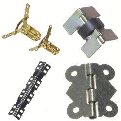 金属部分の宝石類のための小型伸縮性があるヒンジまたはばねのヒンジのSelf-Closing金属のばねのヒンジのハードウェアの付属品または木かワインまたはブティックまたはツールまたはおもちゃまたはギフトまたは革ボックスまたはGemel