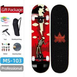 Preiswertes Preis-Qualitäts-kundenspezifisches Ahornholz-Berufsspieler-Skateboard