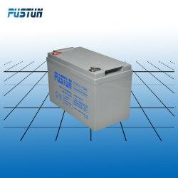 12V100ah de accumulator (AGM) verzegelde de Zure Navulbare Batterij van het Lood met het Leven van de Vlotter over 10years