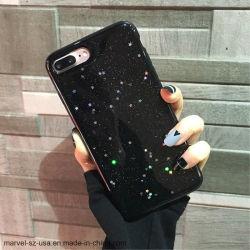 Bling couvercle en silicone souple Glitter Téléphone Téléphone TPU Étui pour iPhone