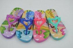 PVC Flip Flops du crâne de confort supérieur pour les enfants