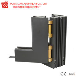 Perfil de extrusión de aluminio térmico para romper el bastidor de Windows
