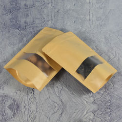 بيع بسيطة الأخضر قوية 10X5X13 لصق ذاتي بضائع حقيبة ورق حرفية