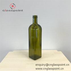 Meilleure vente 500ml Marasca vert bouteille d'huile d'olive