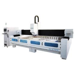 Stein-CNC bearbeitet Küche-Oberseite-Rand-Poliermaschinen-Granit-Wannen-Loch-Bohrmaschine maschinell