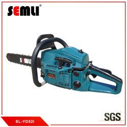 China 52cc (58cc) jardín de alta calidad de mano de la gasolina gasolina sierra eléctrica con profesionales de Precio de fabricante