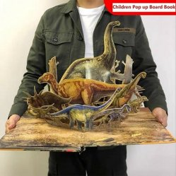 De aangepaste 3D Kinderen duiken het Boek van de Raad van de Draak op