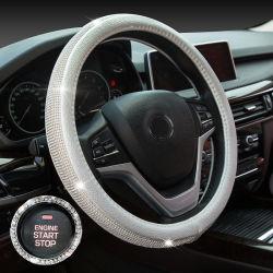 O luxo de Fractius Crystal Diamond carro TAMPA VOLANTE DE DIRECÇÃO
