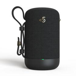 À prova de água portátil Bluetooth Tws 5.0 Suporte de som do altifalante sem fios do alto-falante do rádio FM TF