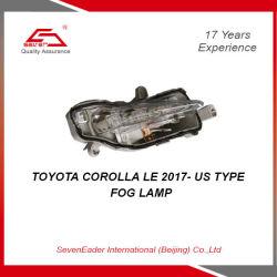 Indicatore luminoso automatico della lampada della nebbia della parte del corpo dell'automobile per Toyota Corolla Le 2017 - noi tipo