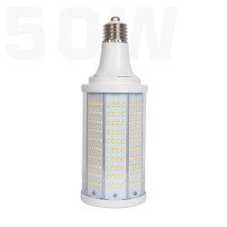 مصباح LED HID بقدرة 50 واط و135 لومن/واط و6750 لومن توفير الطاقة في الصين E26 مصباح LED من نوع Corn Light من نوع E27 لإضاءة الصوديوم عالية الضغط الاستبدال