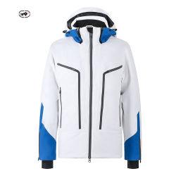 공장 제조업체 공급자 및 전문 스키를 위한 방풍 화이트 드레스 10000mm 실외 남성용 방수 재킷