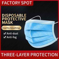 3 telas Mascarilla desechable de registro de la FDA